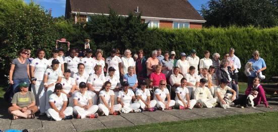 CanAm United Cricket team photo