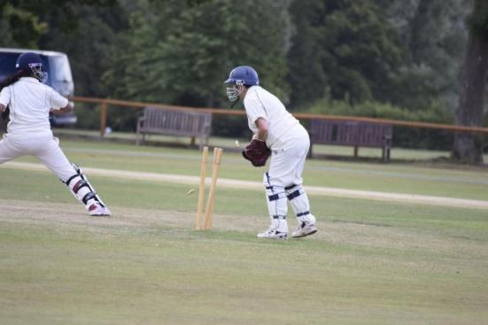 A stumping at Cricket Week